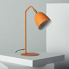 Ledkia - Lampe de Bureau Areso Orange Safran -