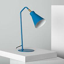 Ledkia - Lampe de Bureau Talda Bleu - Bleu