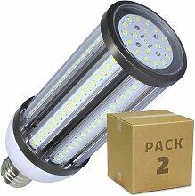 Ledkia - PACK Lampe LED Éclairage Public Corn E40