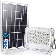 LEDMO 100W Projecteur led Exterieur Solaire 6500K