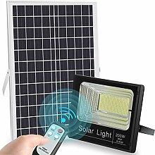 LEDMO 200W Projecteur LED Solaire 6500K Lumiere