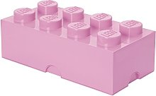 LEGO - BOITE DE RANGEMENT 8 plots - Rose