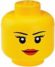 LEGO - Tête de rangement iconique - Boîte de