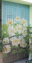 Leguana - Rideau de porte en bambou - motif