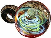 Leiouser Collier avec pendentif en forme de boule