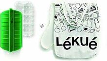 Lékué 3504600 Kit Papillote Green Shopper