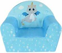 Leon le dragon fauteuil club enfant