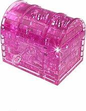 Les blocs de cristal 3d Boîte à trésors., Mamum