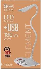 Les emos D08USB Lamp Source de lumière White