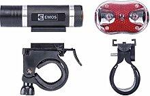 Les emos p3920, éclairage avant de vélo + feu