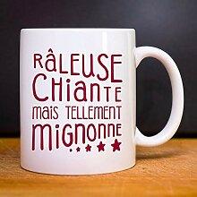Les Éphémères Mug RÂLEUSE, CHIANTE, MAIS