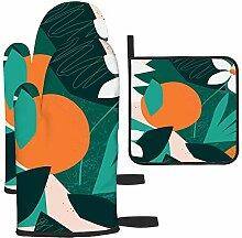 Les gants de cuisine et maniques de la jungle