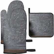 Les gants de cuisine et maniques en cellophane