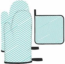 Les gants de cuisine et maniques tendance à motif