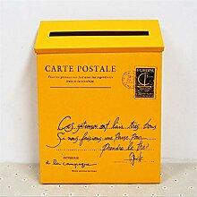Lettre murale Post Boîte de poste Vintage