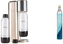 Levivo Machine à Soda sans bonbonne de CO² Or