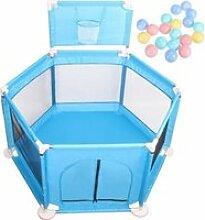 LEXLIFE Parc pour bébé et compact à 6 côtés