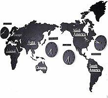 LEY 2.2m Carte du Monde en Bois 3D avec des