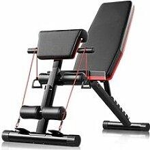 LEY Banc de Musculation Réglable sur 7 Positions,
