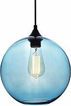 LFsem Moderne Simple Pendentif Lampe Coloré Boule