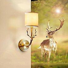 LG Snow Lampe Créative Américaine Tête De Cerf
