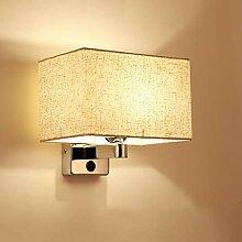 LG Snow Lampe De Mur En Tissu Nordique Simple LED