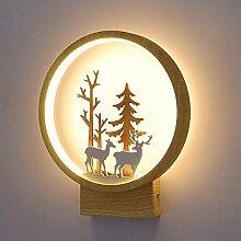LG Snow Lampe Murale Nordique Créative Lampe De