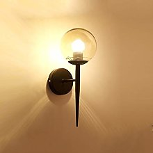 LG Snow Minimaliste Moderne Lampe Murale Noire
