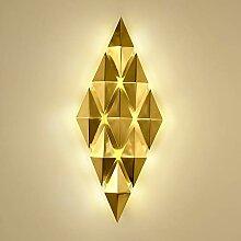 LG Snow Salon postmoderne simple LED lampe murale