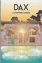 LGHLJ Posters MurauxDAX Fontaine Chaude Vintage