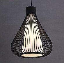 LGQ Novely Lustres - Lampes À Suspension Noires