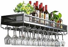 LH-Étagère à cadre Casiers à vin Support Mural