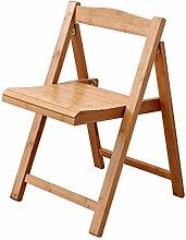 LHF123 Chaises Pliantes en Bois Massif Home Chaise