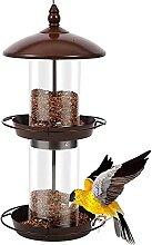 LHJCN Mangeoire pour oiseaux en forme de cabane