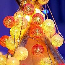 LHLJ LED lumière décorative Petite Ampoule