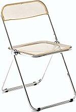 LHY Chaise Pliante Cadre en métal Solide Chaise