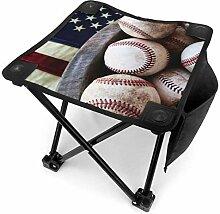 liang4268 Merican Baseball Tabouret de Camping
