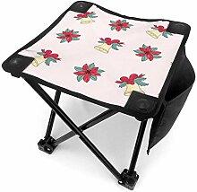 liang4268 Tabouret de Camping Bells for Christmas