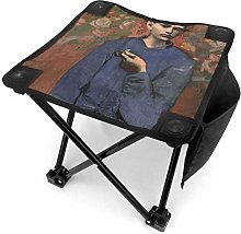 liang4268 Tabouret de Camping Boy with A Pipe