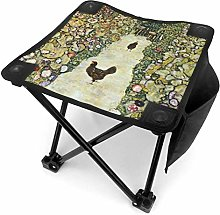 liang4268 Tabouret de Camping Garden with Roosters