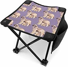 liang4268 Tabouret de Camping Mother and Puppy