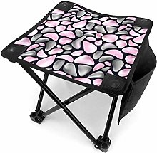 liang4268 Tabouret de Camping Pattern with Gray