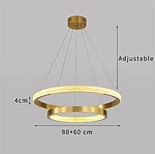 LIANGANAN Bref Design moderne Lustre Cercle