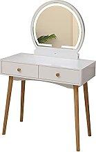 liangzishop Coiffeuse Table de vanité avec Miroir