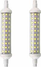 LIBAI 2 Pack - J118 R7S 9W Ampoule LED 118Mm