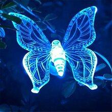Libellule solaire colibri à 7 couleurs