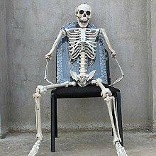 Lieonvis Squelette Humain Halloween,Squelette