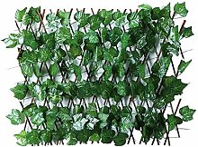 Lierre Artificiel Criblage Treillis en Bois