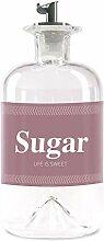 Lifestyle Lover Sucrier en verre de 350 ml, doseur