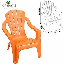 LIFETIM Orange Chaise Fauteuil pour Enfant pour